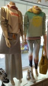 Schaufensterpuppen im Bleibtreu Store