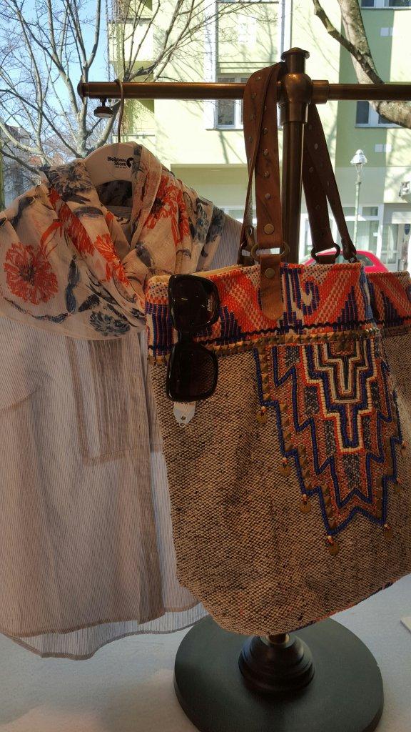 Tasche Pacaya dekoriert