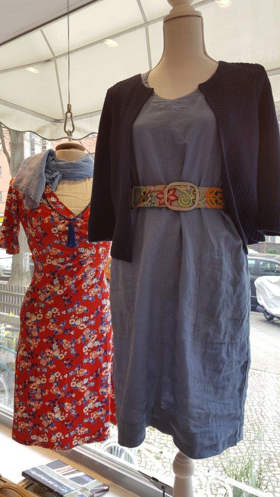 Boho Chic: Sommerkleid mit Ethno Guertel