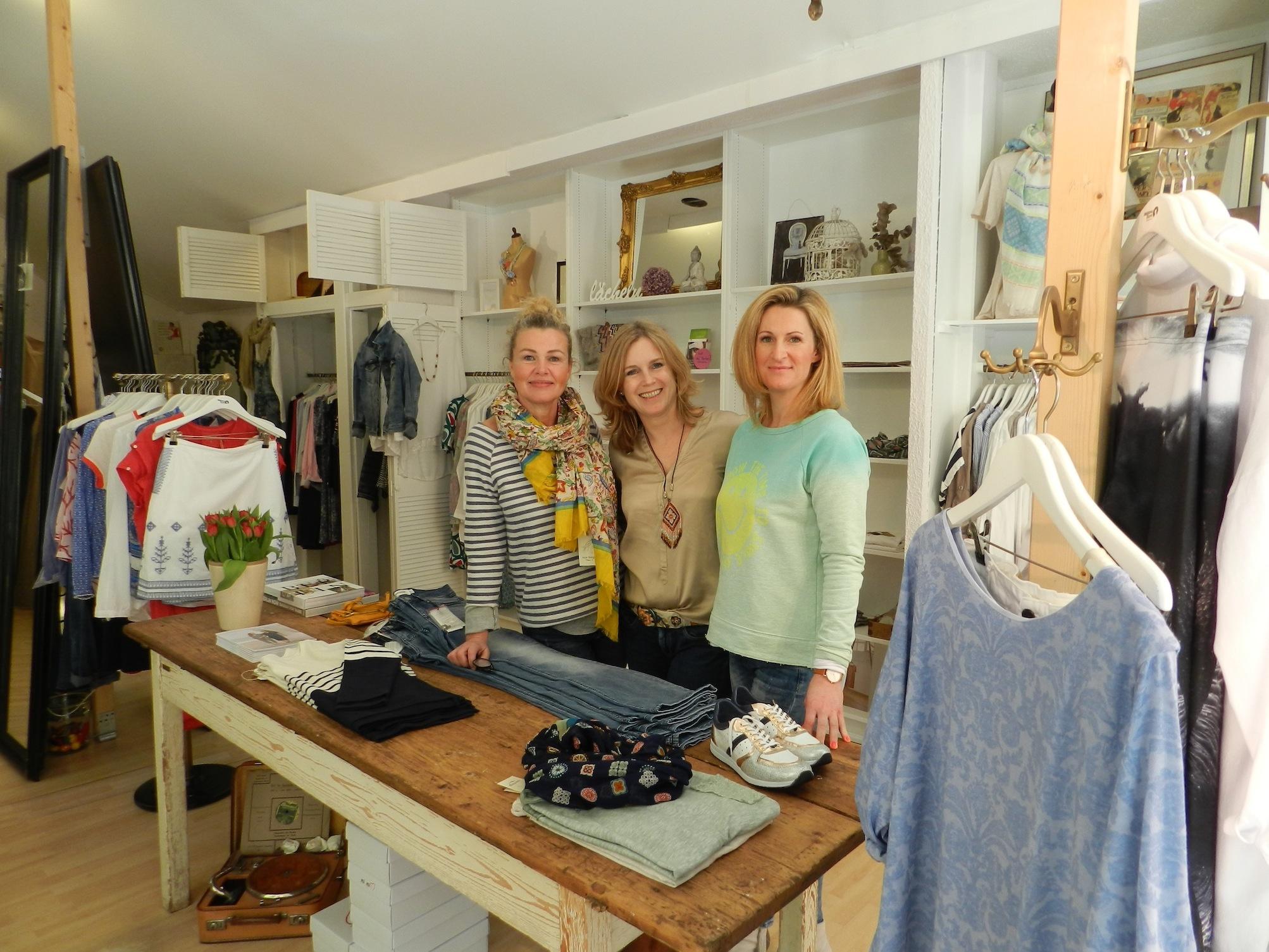 Kirsten Jahn und Franziska Kuczmera im Bleibtreu Store