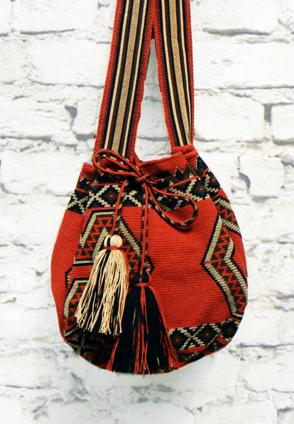 Ethno Wayuu Bag rusty