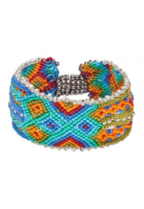 Ethno Armband Indian Knots colours
