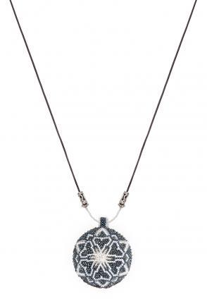 Ethno Kette Mandala silver