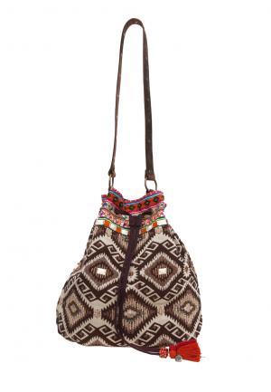 Ethno Beutel Prya Leather