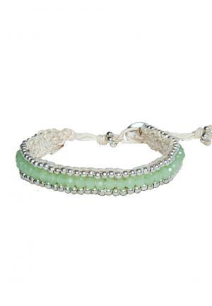 Boho Armband Alessia pastel light green