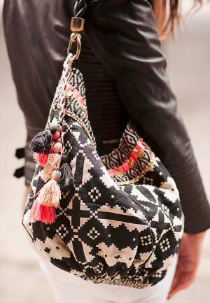 Ethno Tasche Luna Leather