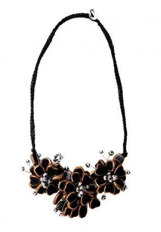 Boho Kette Manou black pepper