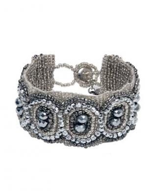 Boho Armband Rita silver