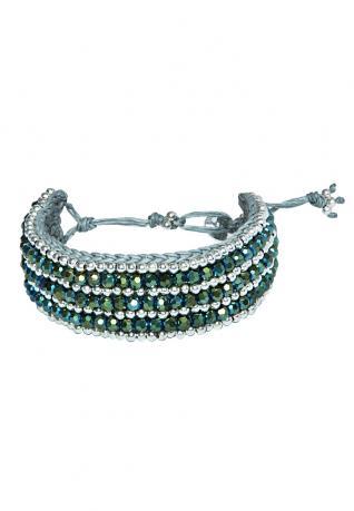 Boho Armband Carolin Olive