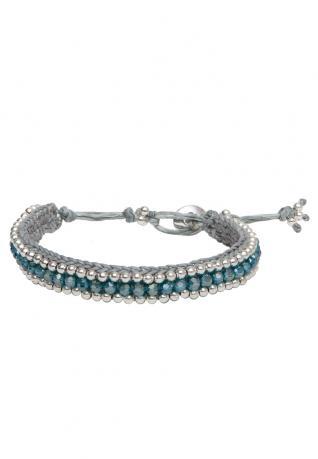 Boho Armband Alessia bright türkis