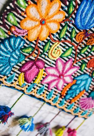 Wandteppich Las Flores IV