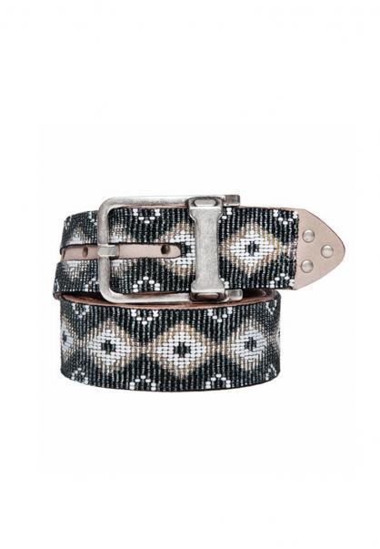 Ethno Perlengürtel Navajo Silver