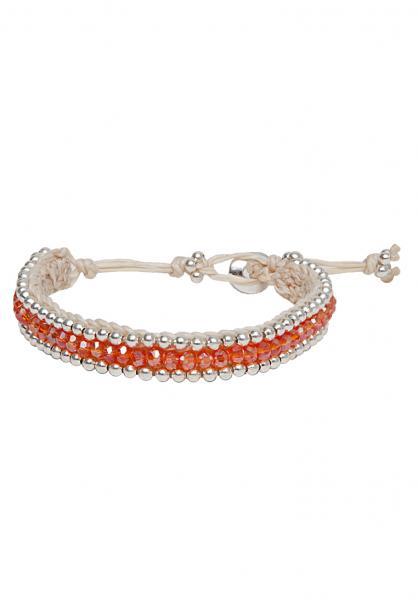 Boho Armband Alessia bright orange