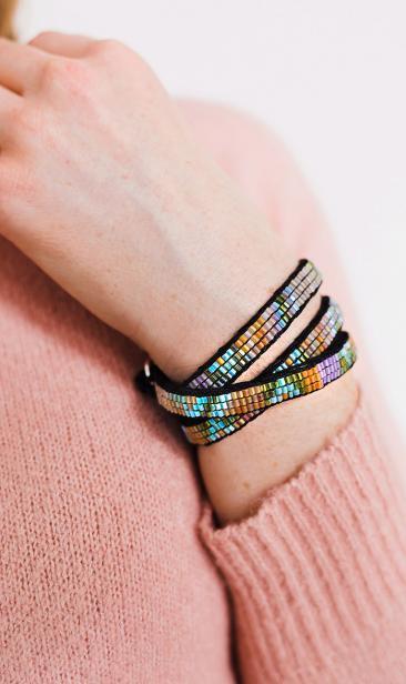 Boho Armband Wrap Mia pastels