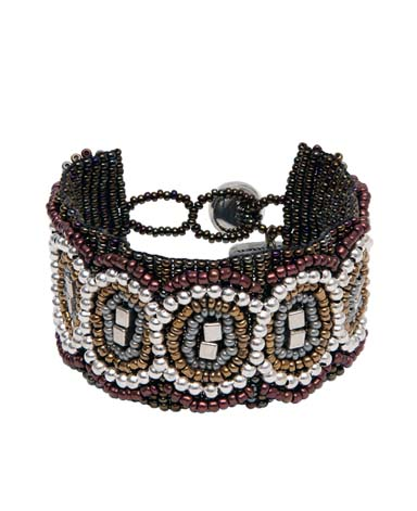 Boho Armband Rita bronze-gold