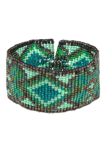 Ethno Armband Navajo Green
