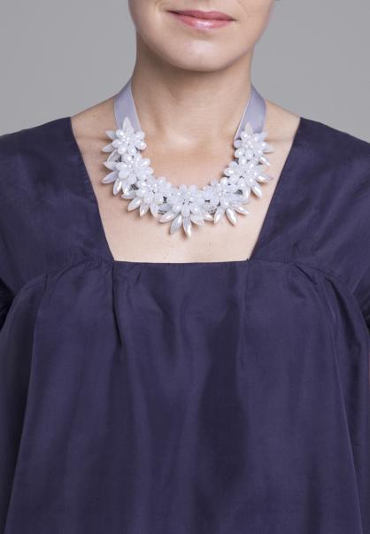 Boho Kette Lilly I light grey
