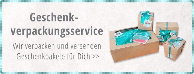 Geschenkverpackungs-Service von Smitten